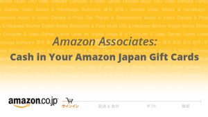 Amazon Japan Gift Cards from International Affiliate Sales
