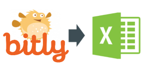 How to export bitly links