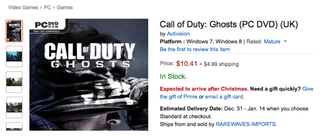 Geniuslink: Call of Duty
