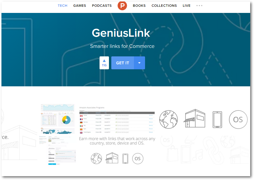 Geniuslink on Product Hunt