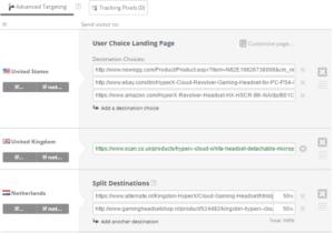 Geniuslink Landing Page Creator