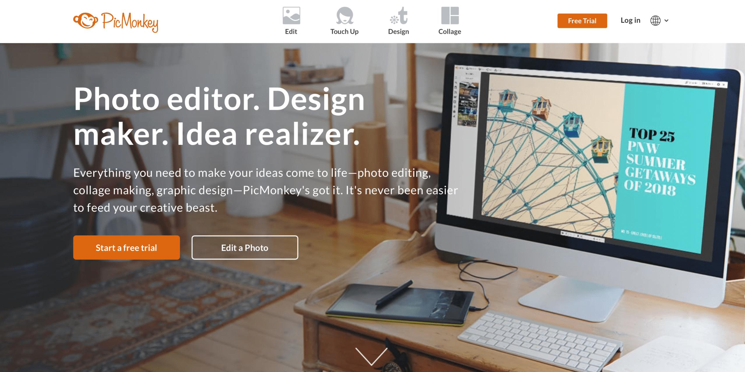 Photo Editor, Design maker, Idea realizer