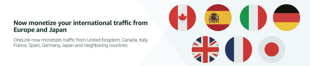 Monetize your International Traffic