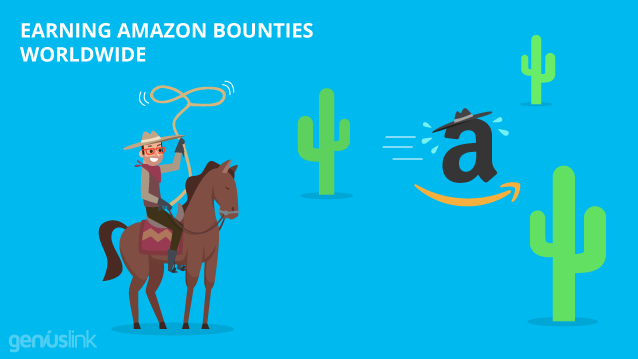 Earning Amazon Bounties Worldwide