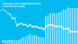 Historical Amazon Commission rates