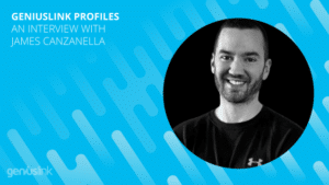 Picture of James Canzanella with words: Affiliate Profile