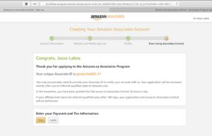 Amazon.sa Affiliate Program Payment Method.