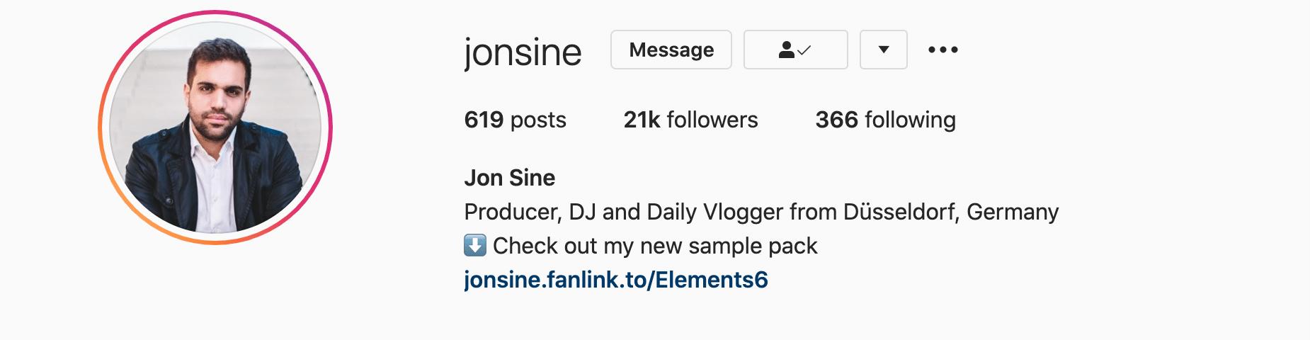 A do profile: josine