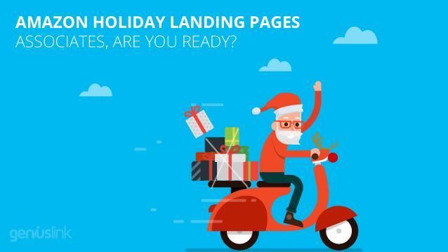 Amazon Affiliates around the holidays