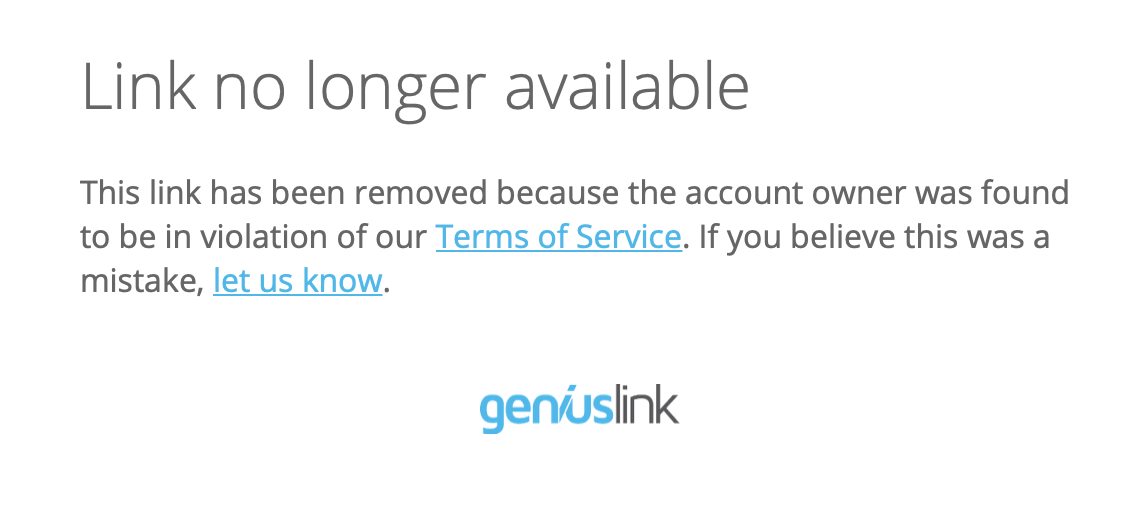 Link no longer available