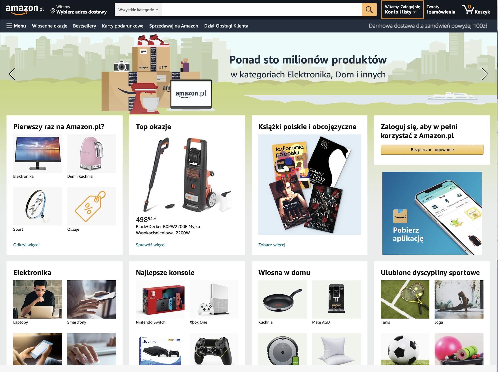 Amazon Poland